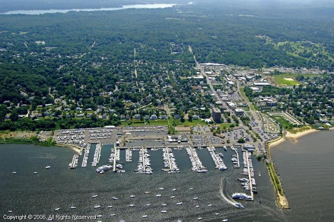 Atlantic Highlands Municipal Harbor in Atlantic Highlands, Newatlantic highlands borough