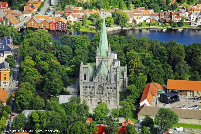 Nidaros Cathedral and the Archbishop's Palace