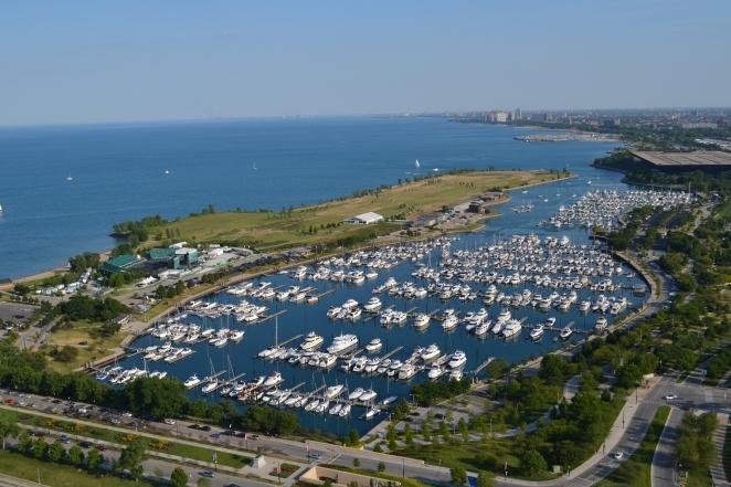 Burnham Harbor, the Chicago Harbors
