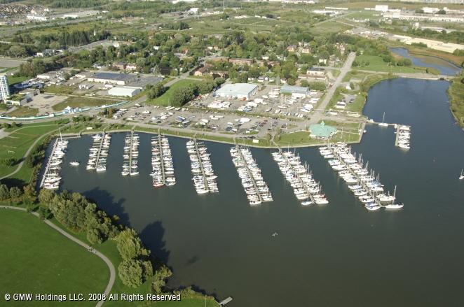 Port Whitby Marina In Whitby Ontario Canada