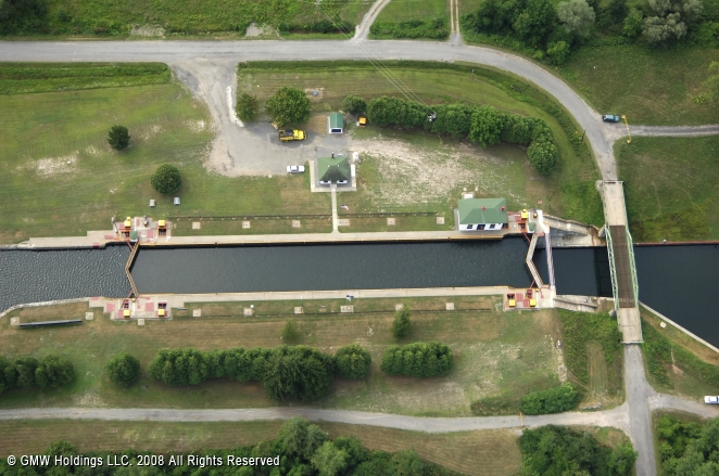 Rome (NY) United States  city pictures gallery : Erie Canal Lock 21, Rome, New York, United States