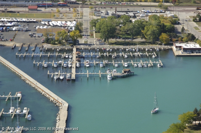 Waukegan (IL) United States  City pictures : Waukegan Harbor Marina in Waukegan, Illinois, United States