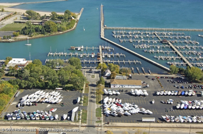 Waukegan (IL) United States  city photo : Waukegan Harbor Marina in Waukegan, Illinois, United States
