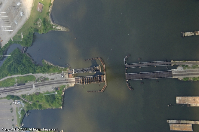 Norfolk (VA) United States  city photos : Norfolk Southern Railroad Bridge, Norfolk, Virginia, United States