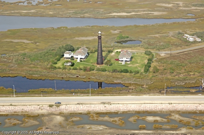 Point Bolivar Lighthouse