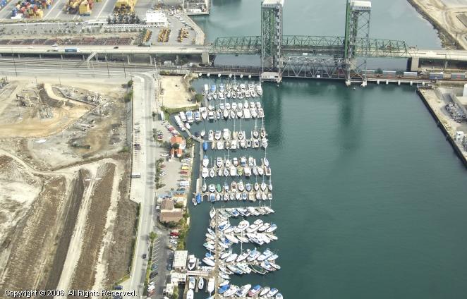 Island Yacht Anchorage in Wilmington, California, United ...