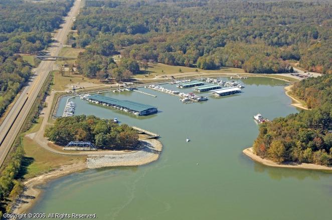 Paris Landing State Park Marina