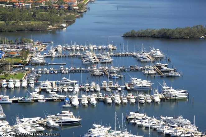 Coconut Grove (FL) United States  City new picture : Biscayne Bay Yacht Club in Coconut Grove, Florida, United States