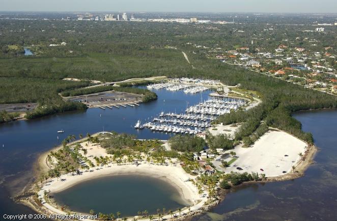 Matheson Hammock Marina In Miami Florida United States