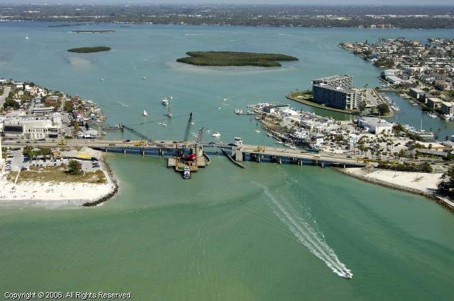 Johns Pass Bascule Bridge St Petersburg Florida United States