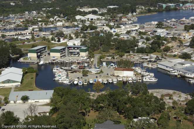 Tarpon Springs (FL) United States  City new picture : Turtle Cove Marina in Tarpon Springs, Florida, United States
