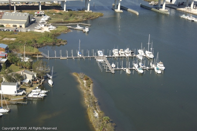 Palm Harbor Marina in Pensacola, Florida, United States