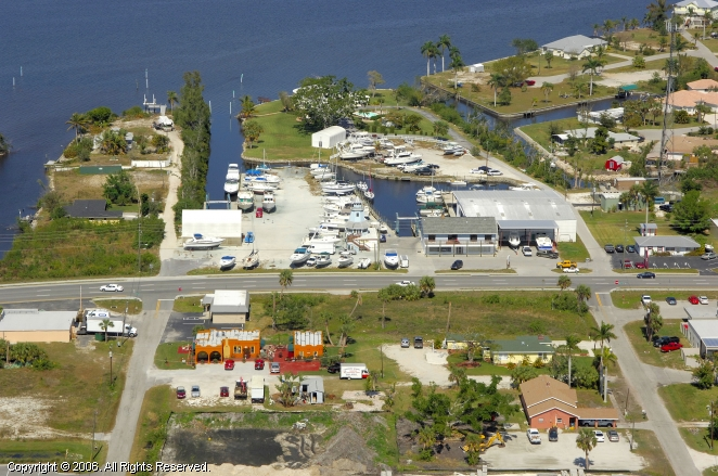 Punta Gorda Marina In Punta Gorda Florida United States