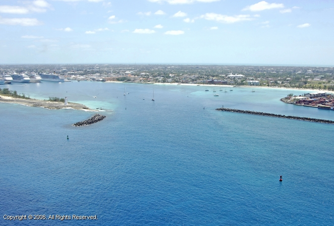 Nassau Harbour Inlet