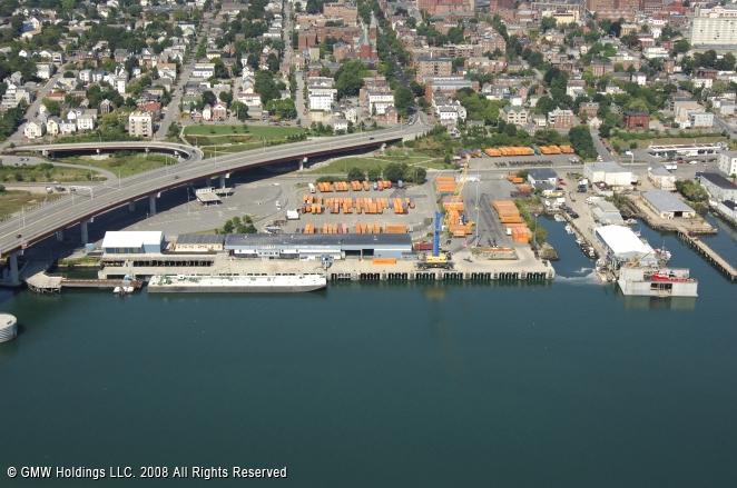Portland-Yarmouth Ferry at the International Marine Terminal