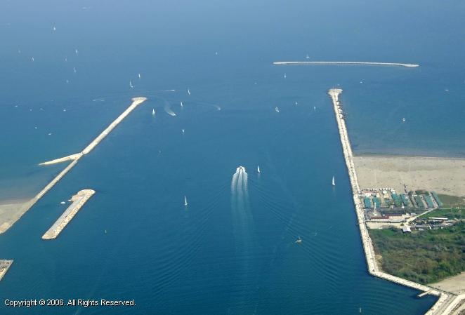 Port of Chioggio Inlet