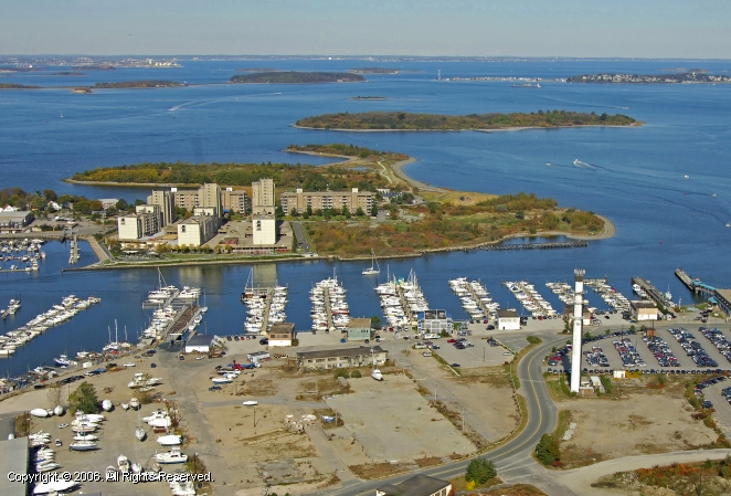 hingham shipyard marina in hingham massachusetts united