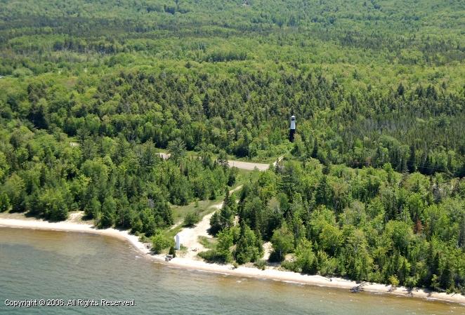 Grand Island West Channel Rear Range Lighthouse