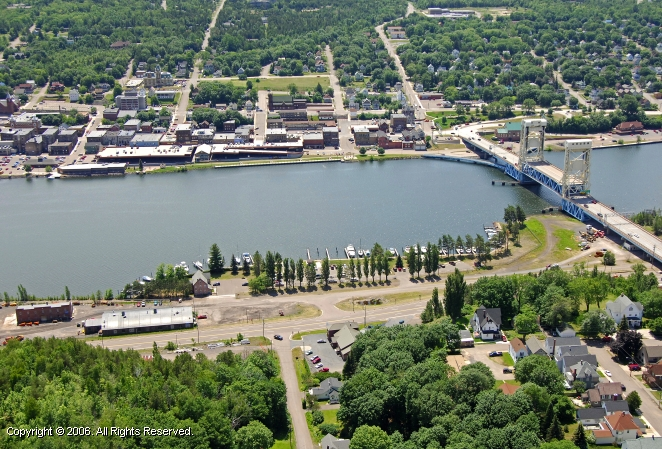 Houghton (MI) United States  city pictures gallery : Houghton County Marina in Hancock, Michigan, United States