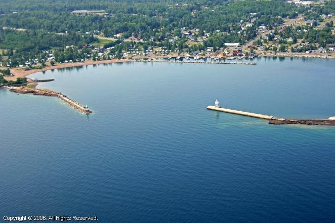 Grand Marais (MN) United States  city photo : Grand Marais Harbor Inlet, Grand Marais, Minnesota, United States