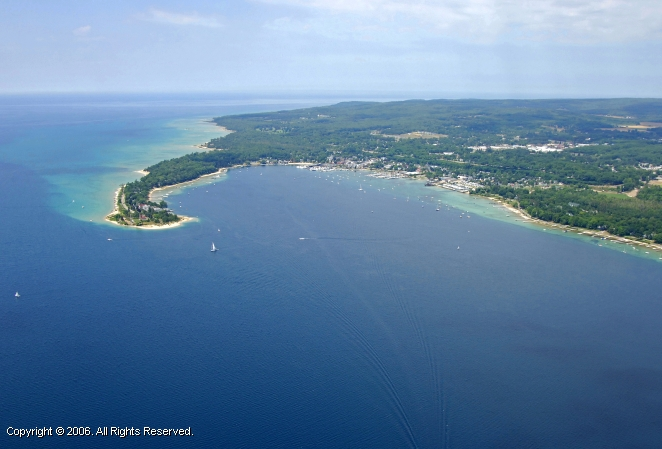 Little Traverse Bay Harbor Springs Michigan United States