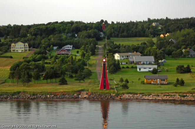 Hazzard Range Point Front Lighthouse